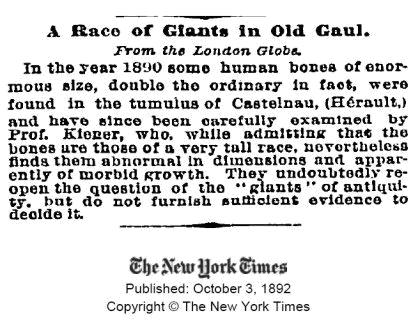 Giants of Gaul